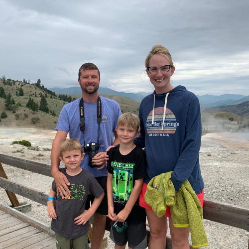 haley falconer and family
